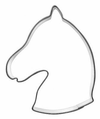 Ausstechform Pferdekopf