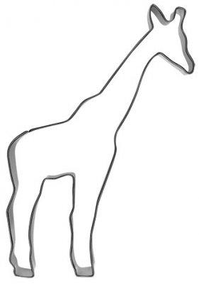 7,5 cm Ausstechform Giraffe Ausstecher